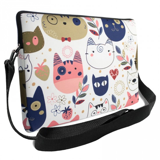 capa para notebook com alça cats