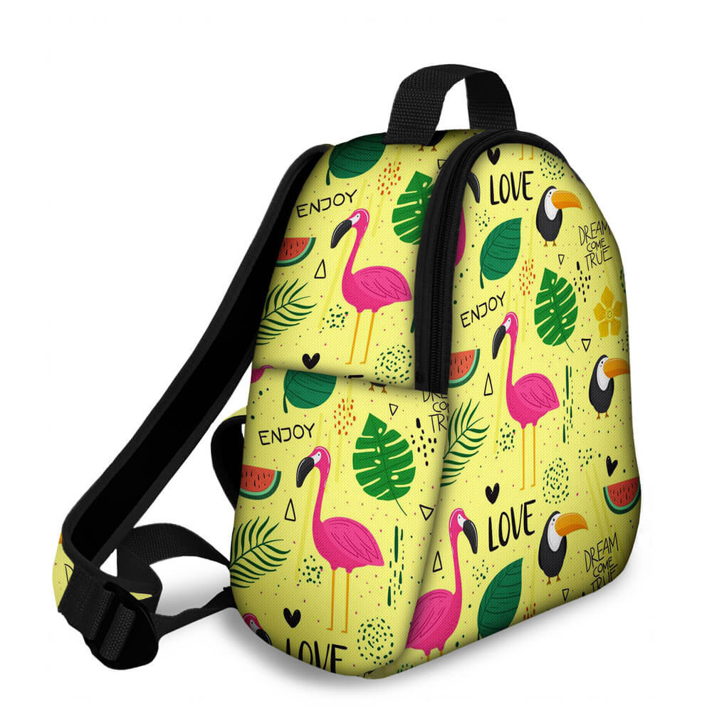 Kit Escolar Animal Dream - Mochila + Marmitinha + Estojo
