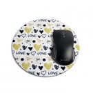 mouse pad redondo love