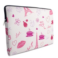 Case Para Notebook Tritengo em Neoprene - I Love Paris