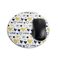 Mouse Pad Redondo - Love