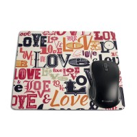 Mouse Pad Retangular - Love Retrô