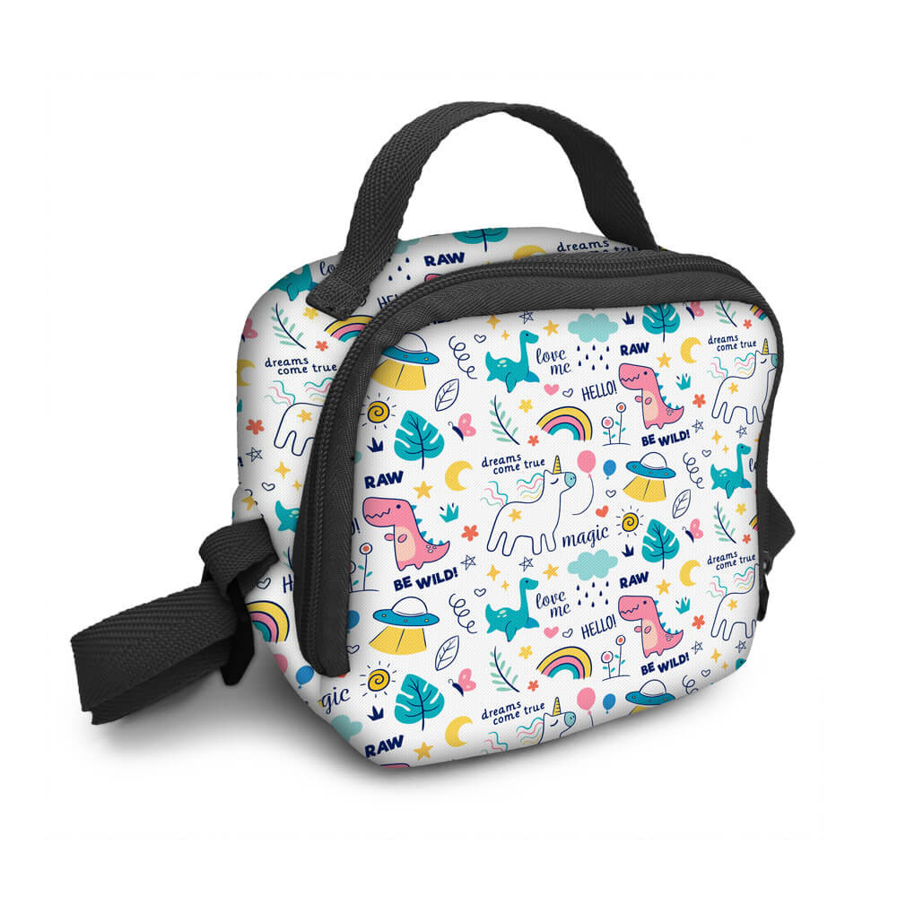 Bolsa Infantil Marmitinha Magic Unicorn