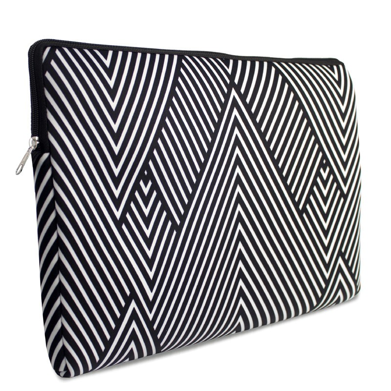 case para notebook com alça black white