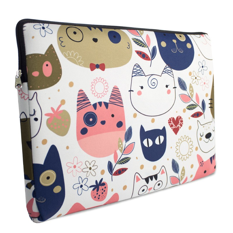 case de notebook com alça cats