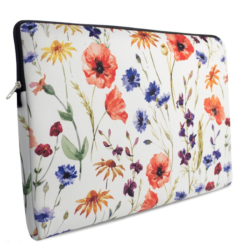 case de notebook floral