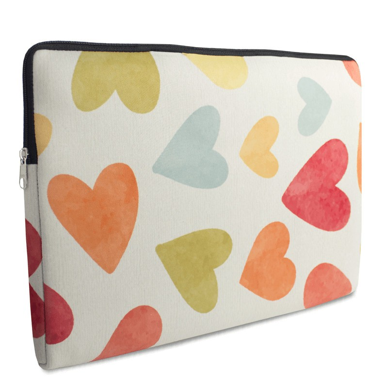 case para notebook Love Multicorações
