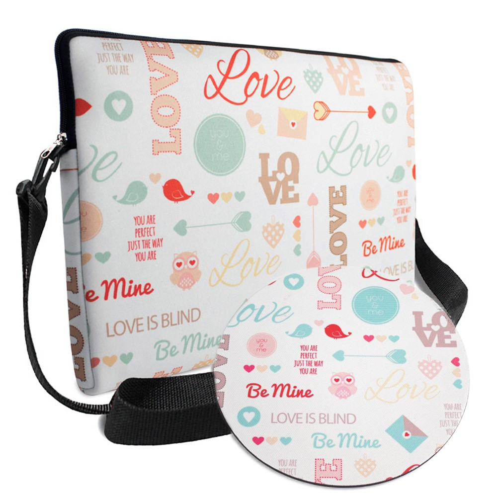 Kit Office 1 em Neoprene - Corujinha You & Me