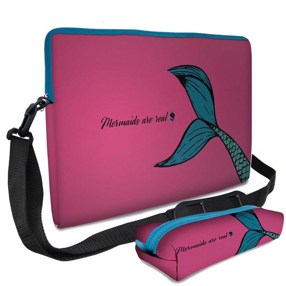 Kit Universitário Capas em Neoprene - Mermaid Simple