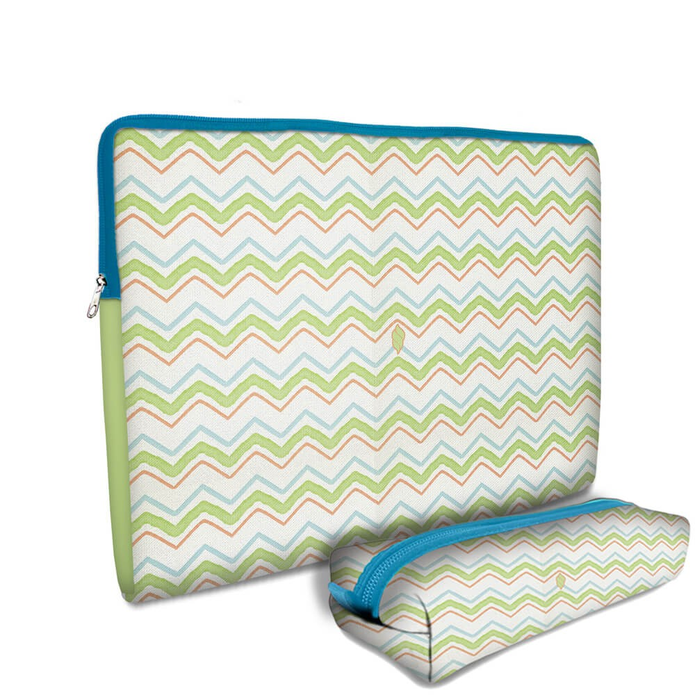 Kit Universitário Cases em Neoprene - Chevron Color