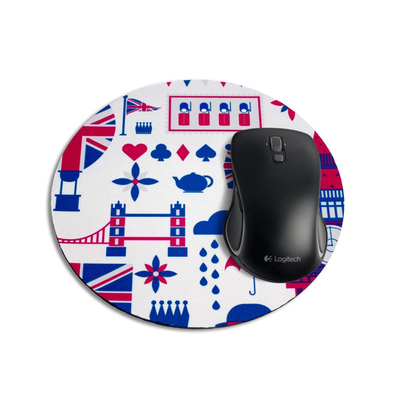 Mouse Pad Redondo - London